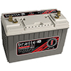 1650 Amps L 288 W 12.91 H 6.77? WEIGHT 9.12? Lithium ?Intensity Deep Cycle 12 Volt Battery - BCI Gro