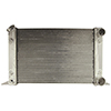 BSC 22in x 13in Scirocco / Pro Stock Style Aluminum Radiator - Top Right Inlet / Bottom Right Outlet