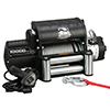 10000lb Winch with 5.8hp Series Wound Motor, Integrated, Roller Fairlead
