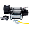 15000lb Winch, Heavy-duty, 7.2hp Series Wound, Roller Fairlead, 92ft Wire Rope