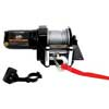 2000lb ATV Winch with Mini-Rocker Switch, Mounting Channel, Roller Fairlead