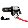 3000lb ATV Winch with Mini-Rocker Switch, Mounting Channel, Roller Fairlead