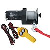 2000lb Utility Winch, 50ft wire rope, hand held controller
