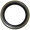 Hub seal low friction teflon