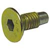 Hub safety screw