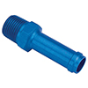 Earls Hose Barb to Pipe Thread Adapters Straight