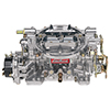 Carburetor Performer Series 4-Barrel 750 Cfm Manual Choke Satin Finish