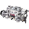 Carburetor Thunder Series 4-Barrel 650 Cfm Electric Choke Satin Finish