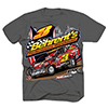 Behrent's Racing Small Block Modified T-Shirt - Dark Heather Grey