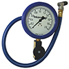 Intercomp 360089 4in. 0-2 Bar Glow-In-The-Dark Fill, Bleed & Read Air Pressure Gauge