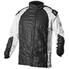 K1 21-GRI Grid 1 2-Layer Nomex Driving Jacket - SFI 3.2A/5, Black/Silver