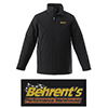 Behrent's Logo Men's Soft Shell Insulated Jacket - Black