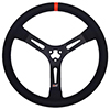 Max Papis Innovations MPI-DM-15-A 15 Inch Aluminum Steering Wheel Dirt Modified / Dirt Late Model 3-spoke
