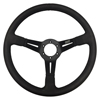 Max Papis Innovations MPI-DO-14-HG-B 14 Inch Aluminum Black Strip Off Road / SXS / Drifting 6 Hole Steering Wheel