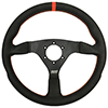 Max Papis Innovations MPI-F-14-HG 14 Inch Aluminum Touring / Off Road / SXS / Drifting 6 Hole Steering Wheel