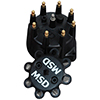 Distributor Cap, MSD Style, for PN 8570, PN 8545, PN 8546, Black