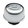 Proform 141-618 Valve Cover Breather Cap - Chrome - Twist-On Type - 3In. Diameter - With Bowtie Logo