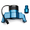 Proform 66225B Electric Engine Water Pump - Aluminum - Blue Powder Coat - Fits Small Block Chevy Engines