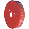 Proform 66517RC Engine Harmonic Balancer Cover - Fits Small Block Chevy Using 6-3/4 In. Damper - Red