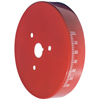 Proform 66518RC Engine Harmonic Balancer Cover - For Small Block Chevy Using 8 Inch Damper - Red