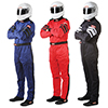 RaceQuip 120 Series Multi-Layer Pyrovatex/Nomex Driving Suit - SFI 3.2A/5