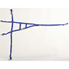 Triangle Roll Cage Net - Blue