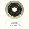 GROMMET SEAL 3/4 I.D. HOLE 3 O.D. GROMMET SEAL 1 HOLE SERIES