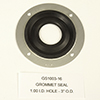 GROMMET SEAL 1 I.D. HOLE 3 O.D. GROMMET SEAL 1 HOLE SERIES