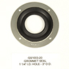 GROMMET SEAL 1.200 I.D. HOLE 3 O.D. GROMMET SEAL 1 HOLE SERIES