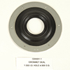 GROMMET SEAL 1 1/2 I.D.HOLE 4 1/2 O.D. GROMMET SEAL 1 HOLE SERIES