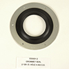 GROMMET SEAL 2 I.D. HOLE 4 1/2 O.D. GROMMET SEAL 1 HOLE SERIES