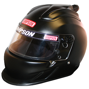Simpson Air Inforcer Vudo SA2015 Racing Helmet 7 1/4 Matte Black 6627148