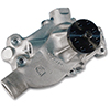 Stage 2 Small Block Chevy Short Water Pump, 5.625 inch Length, 5/8 inch Shaft, CW Rotation