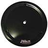 "15"" OVAL ALUMINUM ULTRA MUD COVER - BLACK"