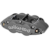 "Wilwood 120-13238 Forged Superlite 6 Radial Mount Caliper - Left Hand, 1.62/1.12/1.12"" Pistons, 0.81"" Disc"