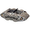 "Wilwood 120-13267-N Forged Superlite 6 Radial MT-Quick-Silver Caliper - Right Hand, Nickel, 1.62/1.12/1.12"" Pistons, 1.25"" Disc"