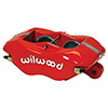 "Wilwood 120-6816-RD Forged Dynalite Caliper - Red, 1.75"" Pistons, .81"" Disc"