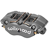 "Wilwood 120-9693-SI Dynapro Lug Mount Caliper - 1.75"" Pistons, .81"" Disc"
