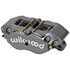 "Wilwood 120-9695-SI Dynapro Lug Mount Caliper - 1.75"" Pistons, .38"" Disc"