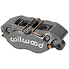 "Wilwood 120-9695 Dynapro Lug Mount Caliper - 1.75"" Pistons, .38"" Disc"
