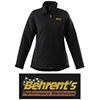 Behrent's Logo Women's Soft Shell Insulated Jacket - Black