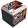 XS Power 12V AGM Starting Battery, Max Amps 2,600A  CA 725A